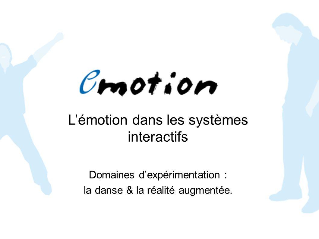 L'émotion dans les systèmes interactifs