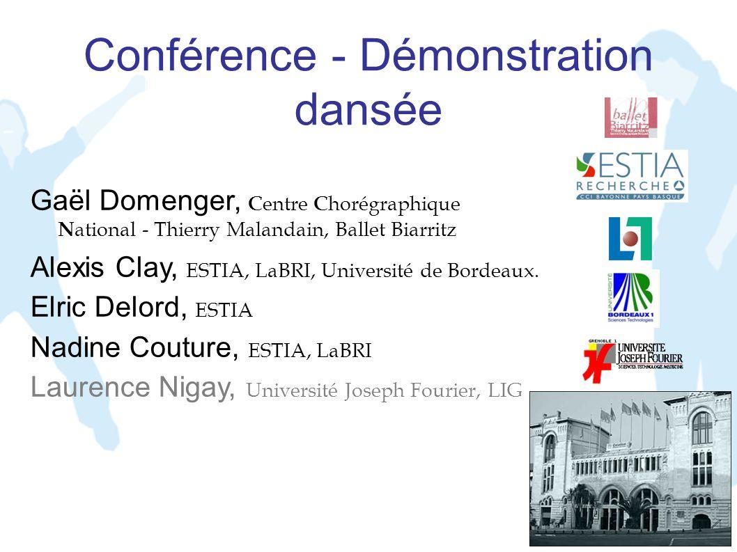 Conférence - Démonstration dansée