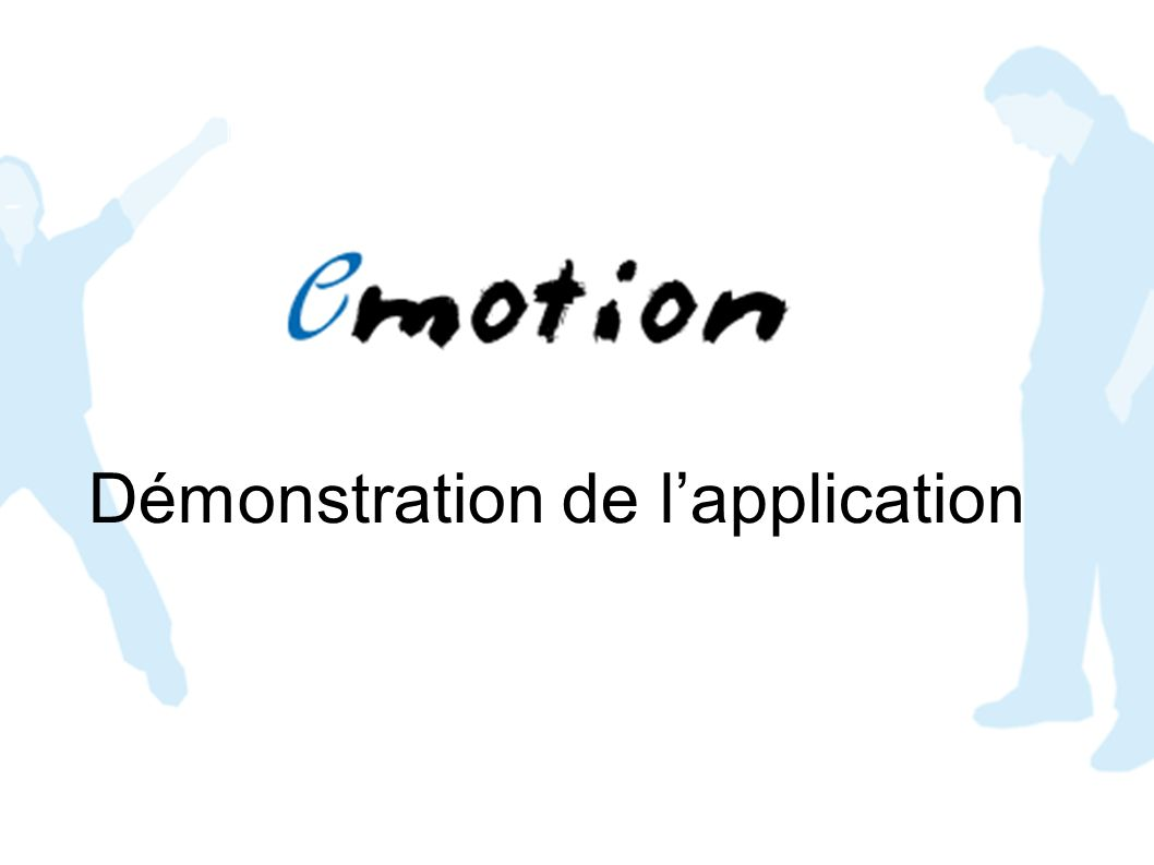 Démonstration de l'application