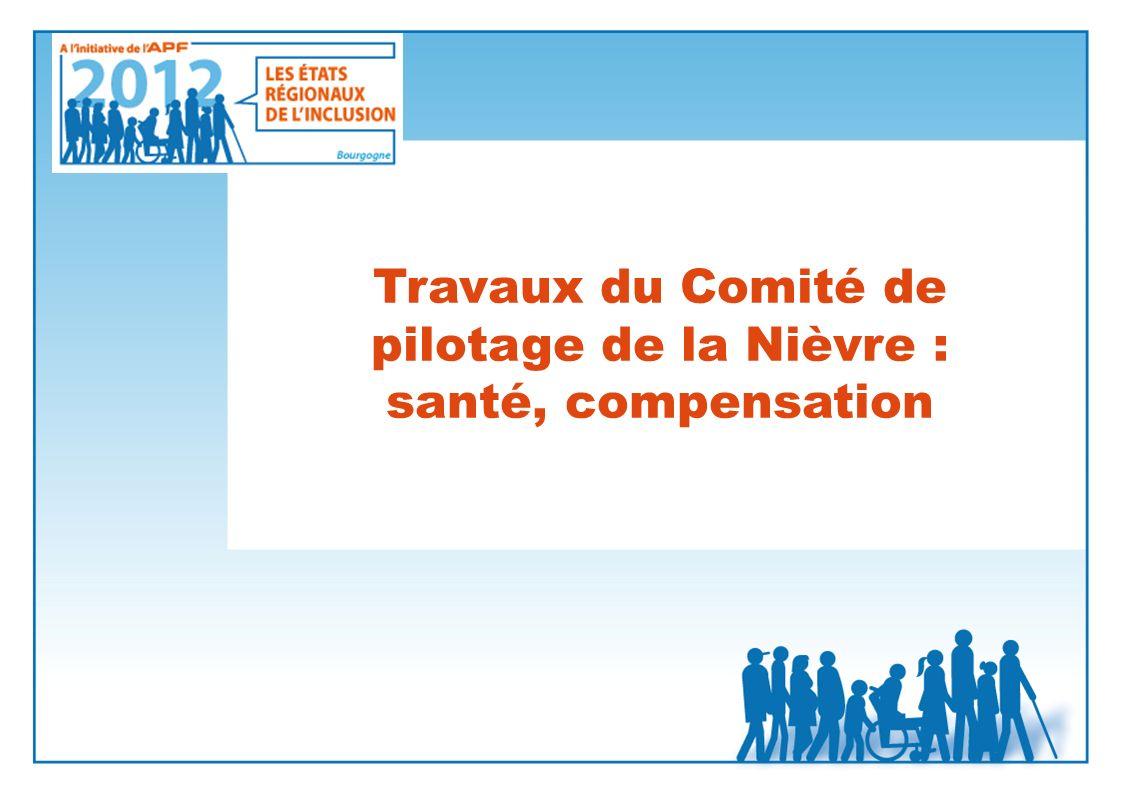 Travaux du Comité de pilotage de la Nièvre : santé, compensation