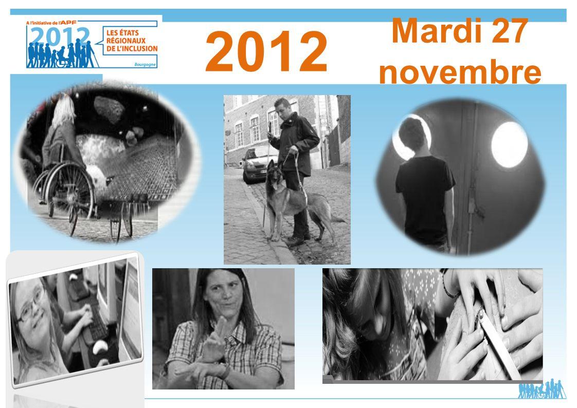 Mardi 27 novembre 2012