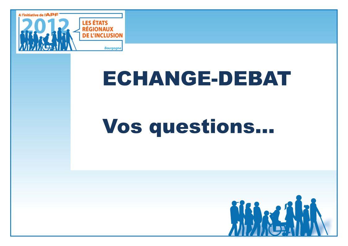 ECHANGE-DEBAT Vos questions…