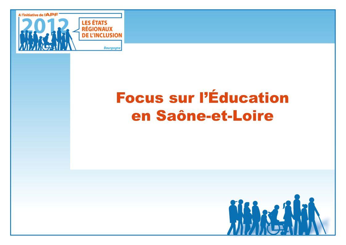 Focus sur l'Éducation en Saône-et-Loire