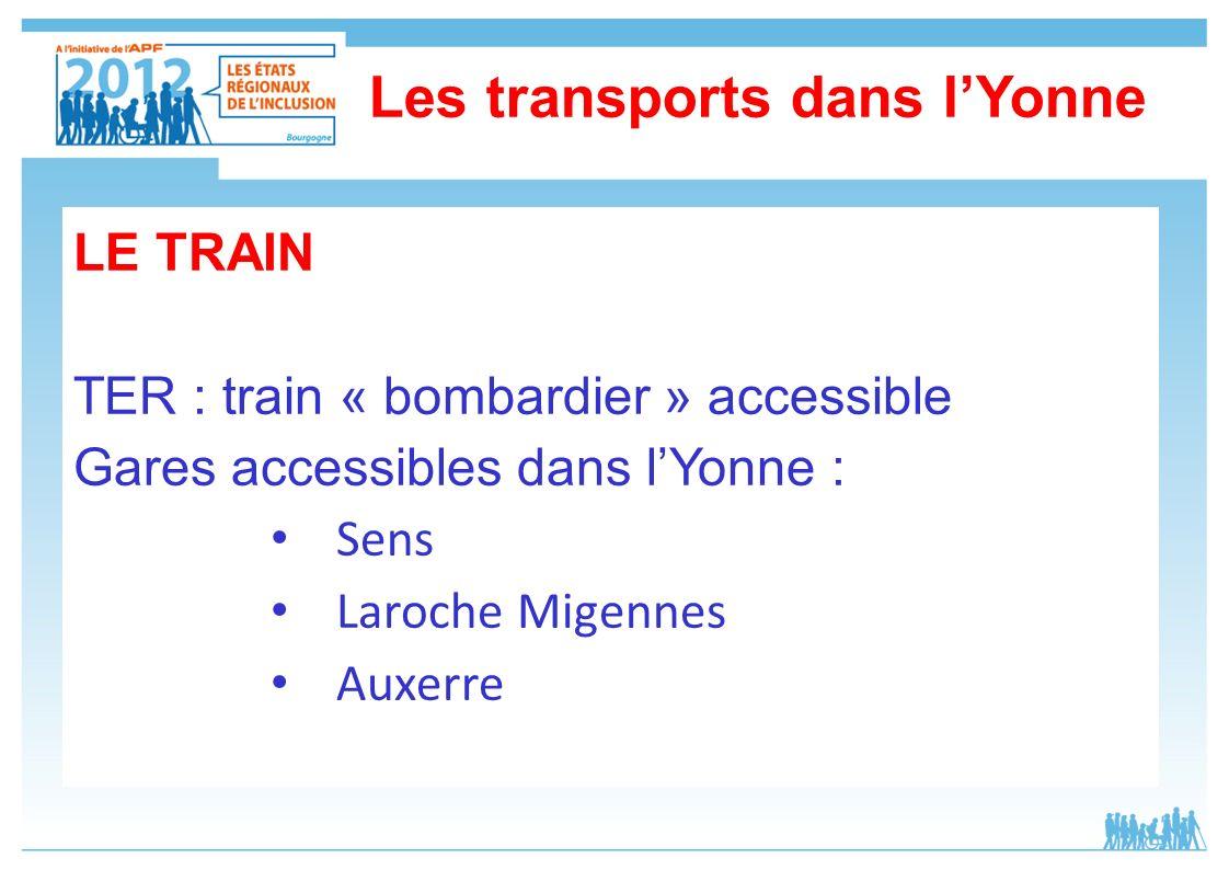 Les transports dans l'Yonne