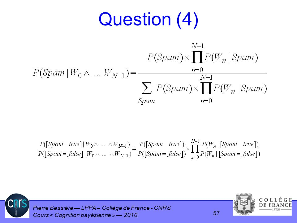 Question (4)