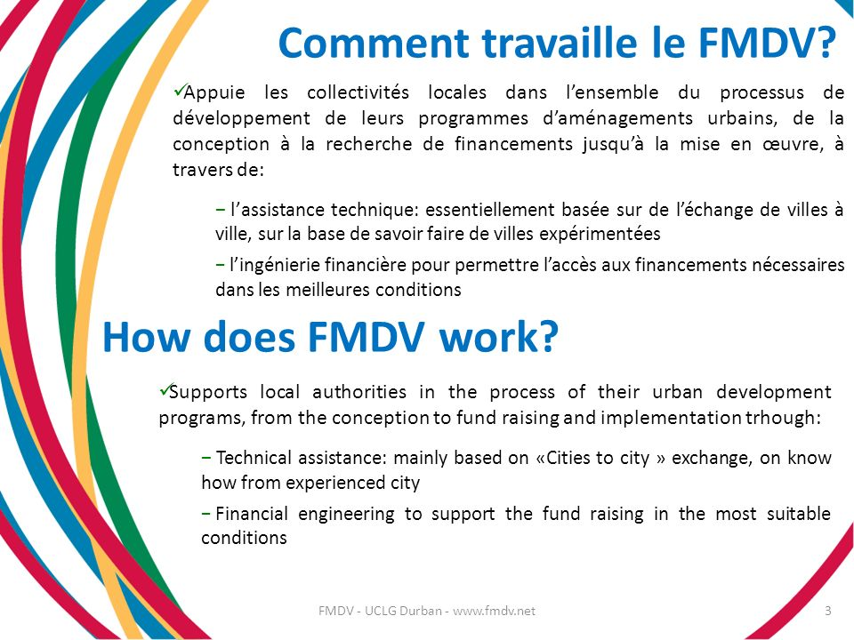 FMDV - UCLG Durban - www.fmdv.net