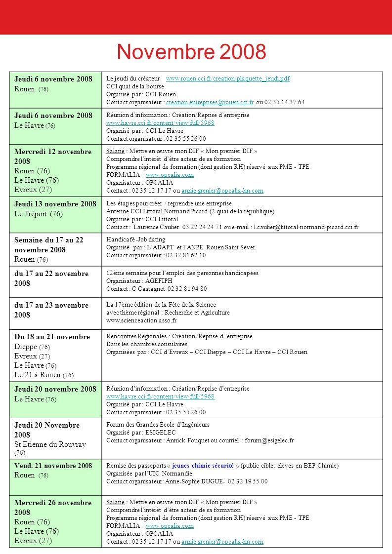 Octobre 2008 Mercredi 29 octobre 2008 Louviers (27) octobre 2008