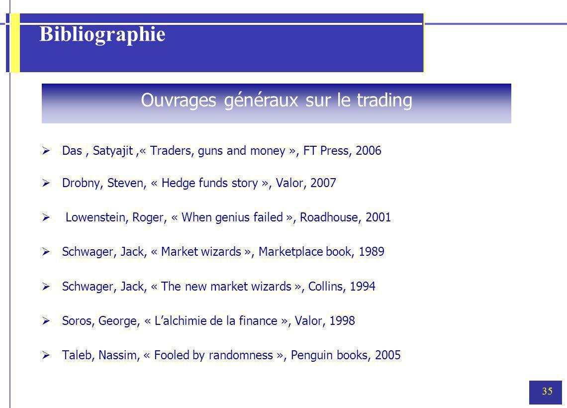 Ouvrages généraux sur le trading