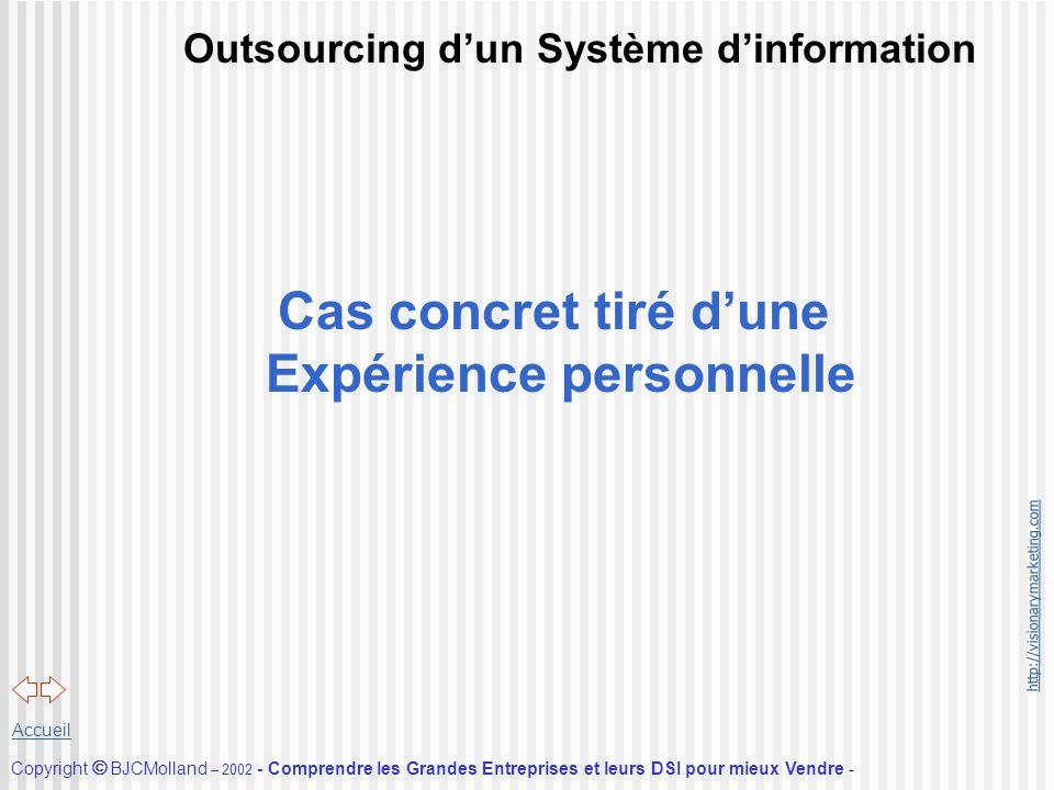 Outsourcing d'un Système d'information