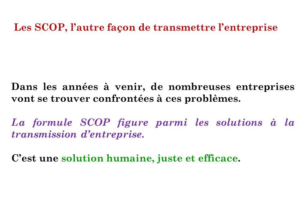 Les SCOP, l'autre façon de transmettre l'entreprise