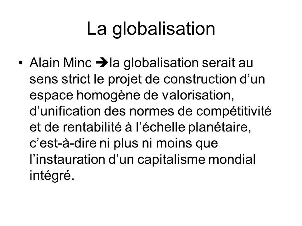La globalisation