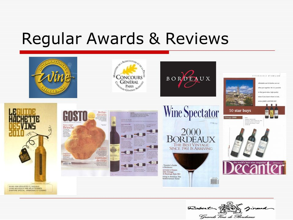 Regular Awards & Reviews