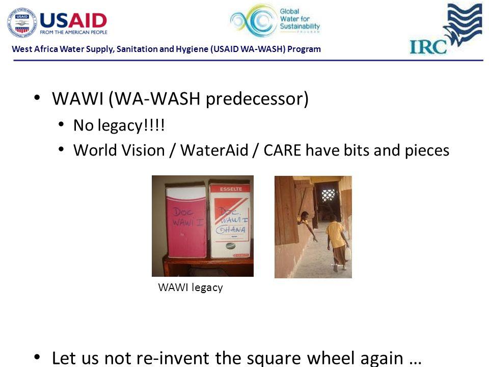 WAWI (WA-WASH predecessor)