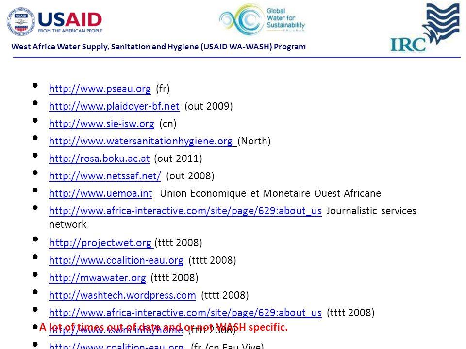 http://projectwet.org (tttt 2008)