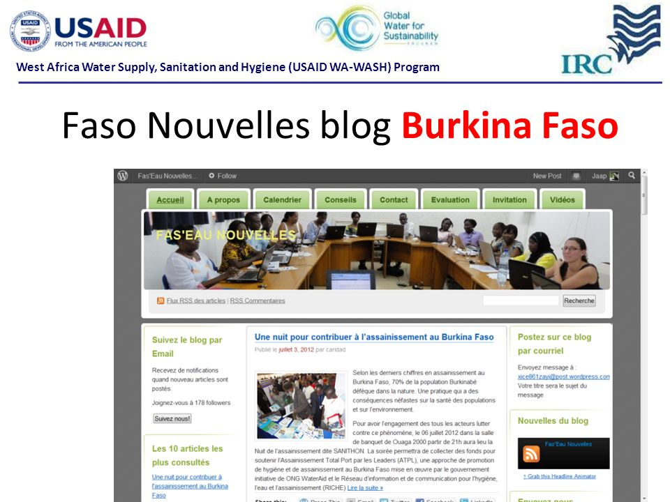 Faso Nouvelles blog Burkina Faso