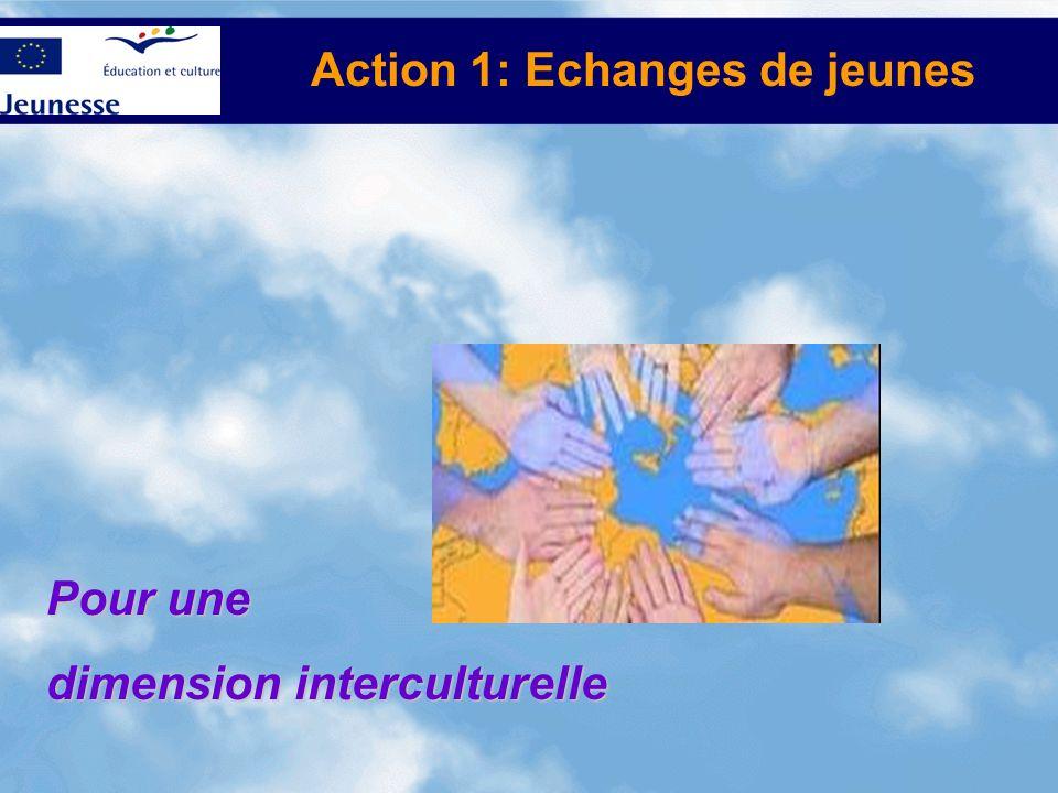 Action 1: Echanges de jeunes