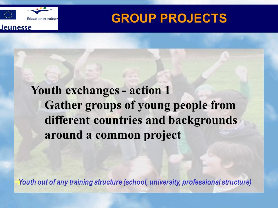 Youth exchanges - action 1