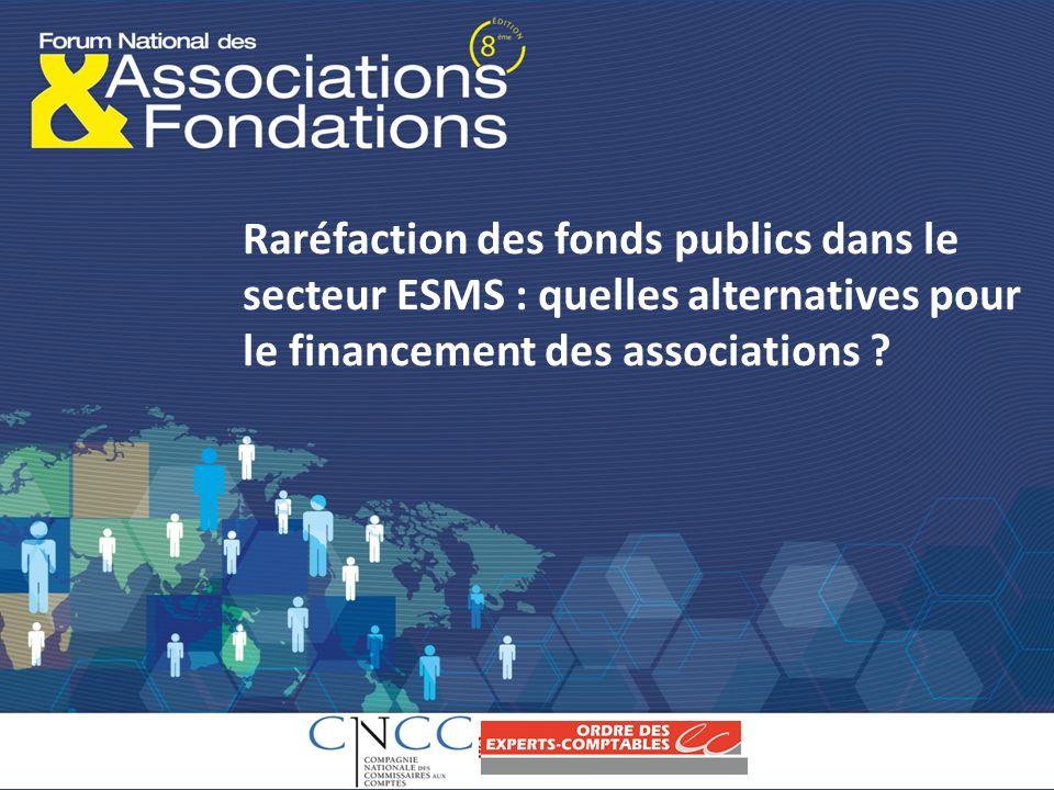 Raréfaction des fonds publics dans le secteur ESMS : quelles alternatives pour le financement des associations