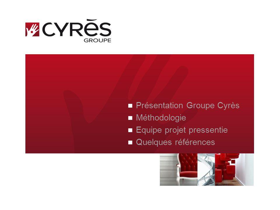 Présentation Groupe Cyrès