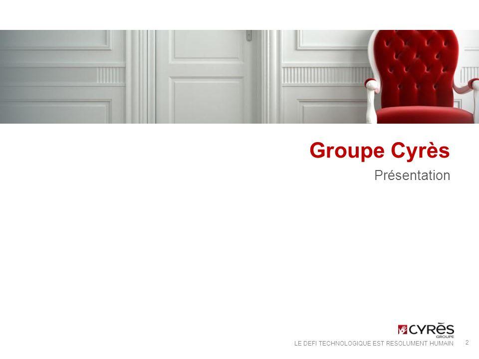 Groupe Cyrès Présentation