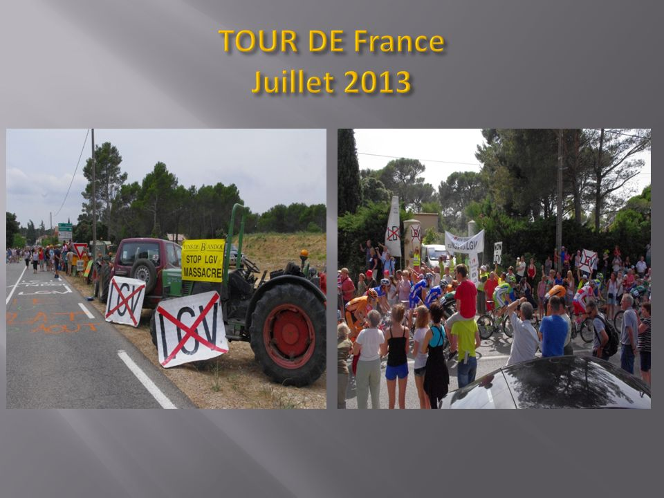 TOUR DE France Juillet 2013