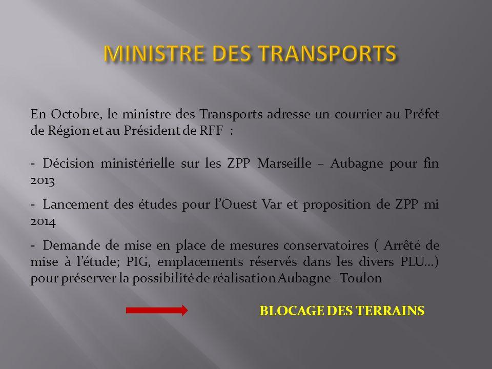MINISTRE DES TRANSPORTS