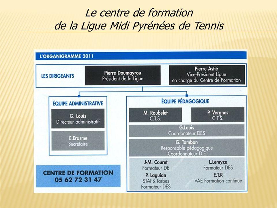 Le centre de formation de la Ligue Midi Pyrénées de Tennis