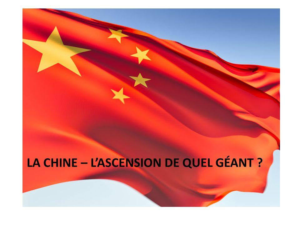 La Chine – l'ascension de quel géant