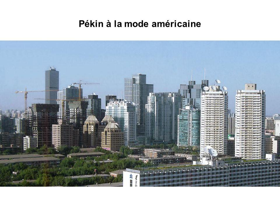 Pékin à la mode américaine