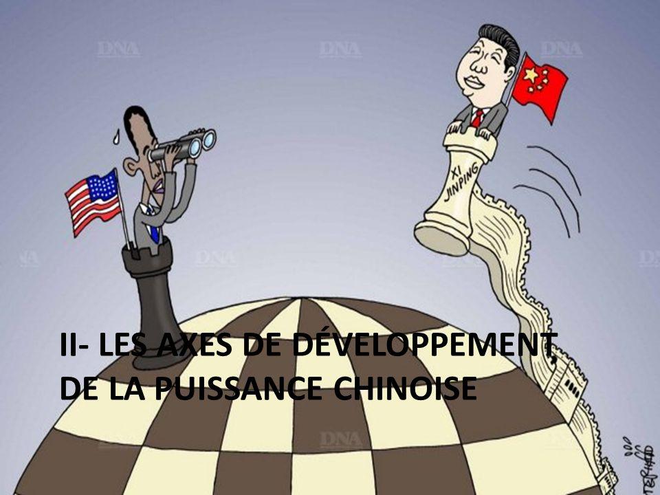 II- les axes de développement de la puissance chinoise