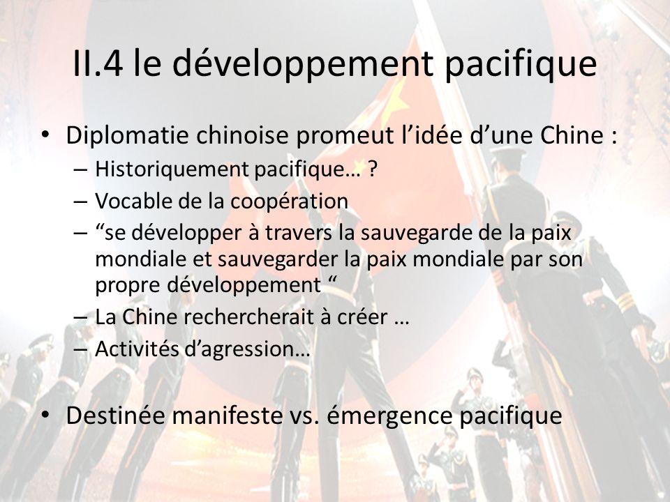 II.4 le développement pacifique