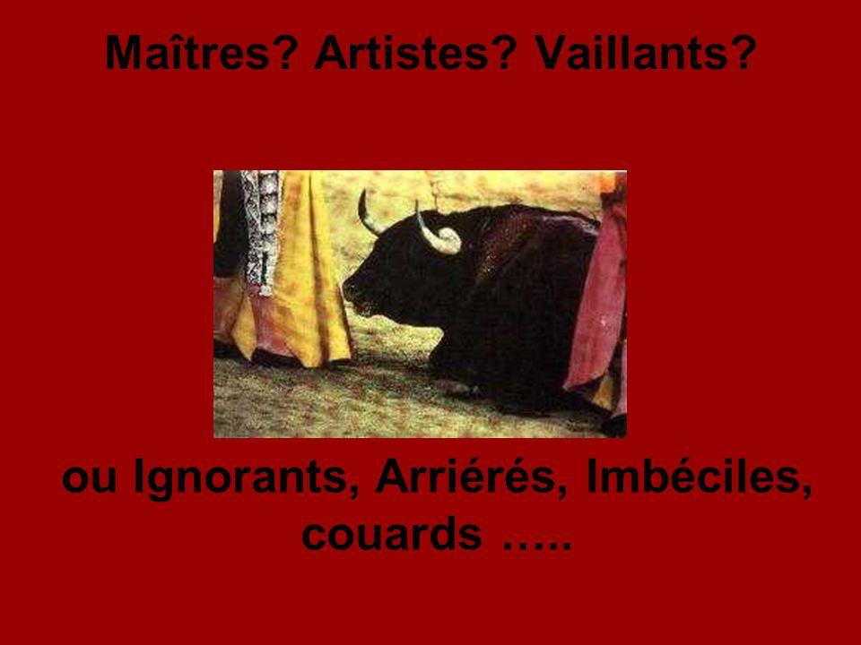 Maîtres Artistes Vaillants