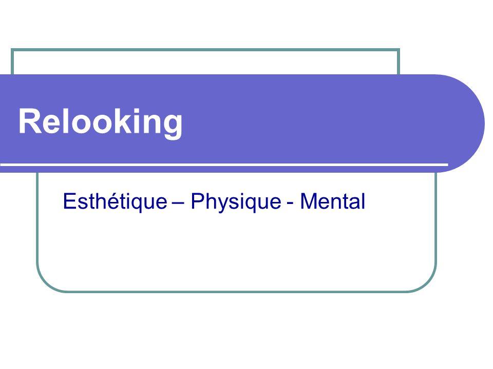 Esthétique – Physique - Mental