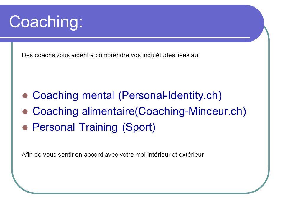 Coaching: Coaching mental (Personal-Identity.ch)