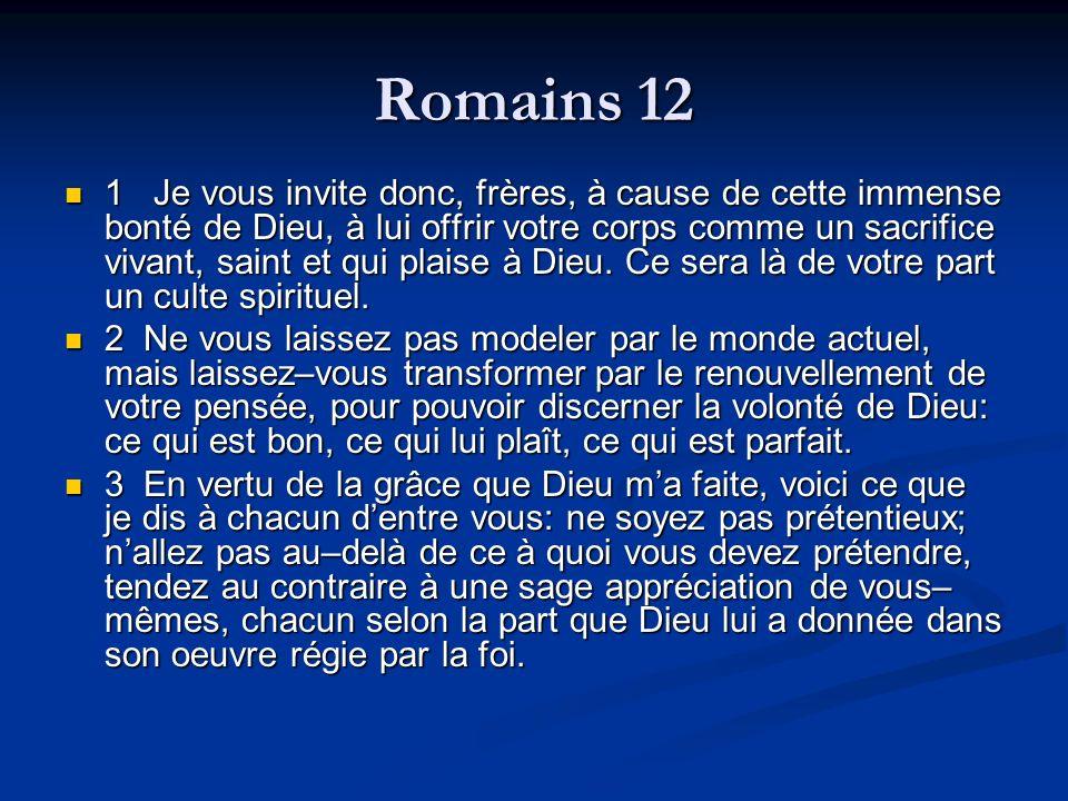 Romains 12