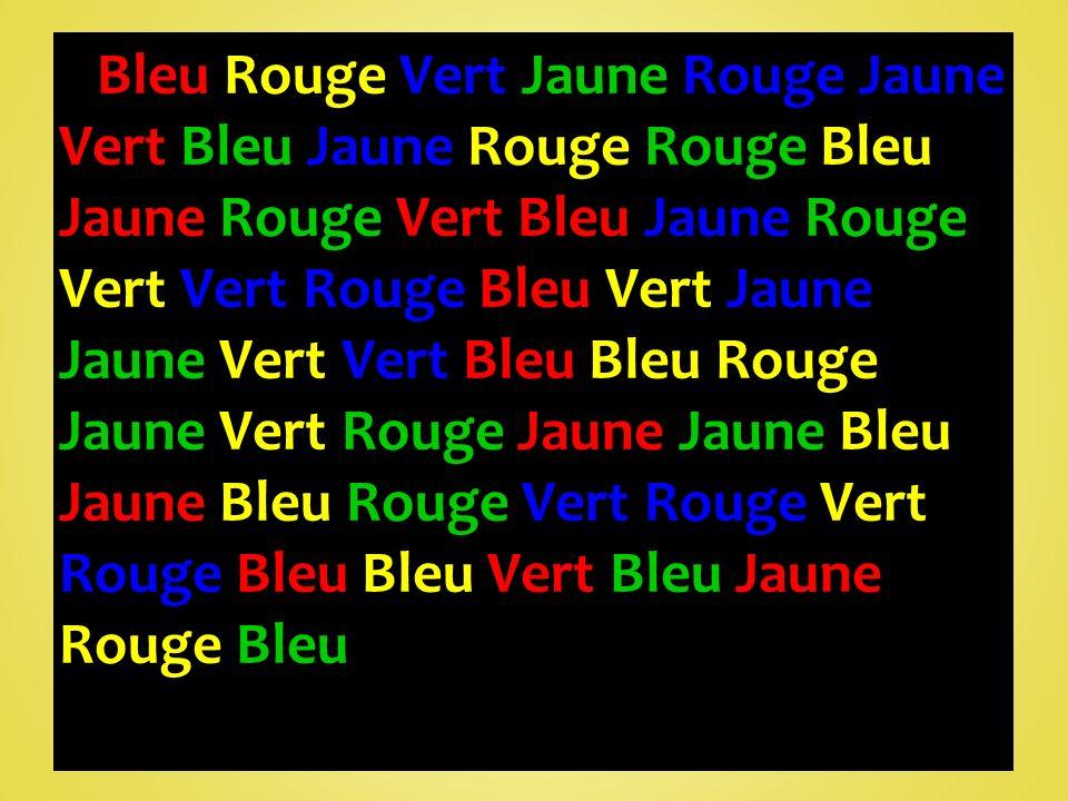 Bleu Rouge Vert Jaune Rouge Jaune Vert Bleu Jaune Rouge Rouge Bleu Jaune Rouge Vert Bleu Jaune Rouge Vert Vert Rouge Bleu Vert Jaune Jaune Vert Vert Bleu Bleu Rouge Jaune Vert Rouge Jaune Jaune Bleu Jaune Bleu Rouge Vert Rouge Vert Rouge Bleu Bleu Vert Bleu Jaune Rouge Bleu