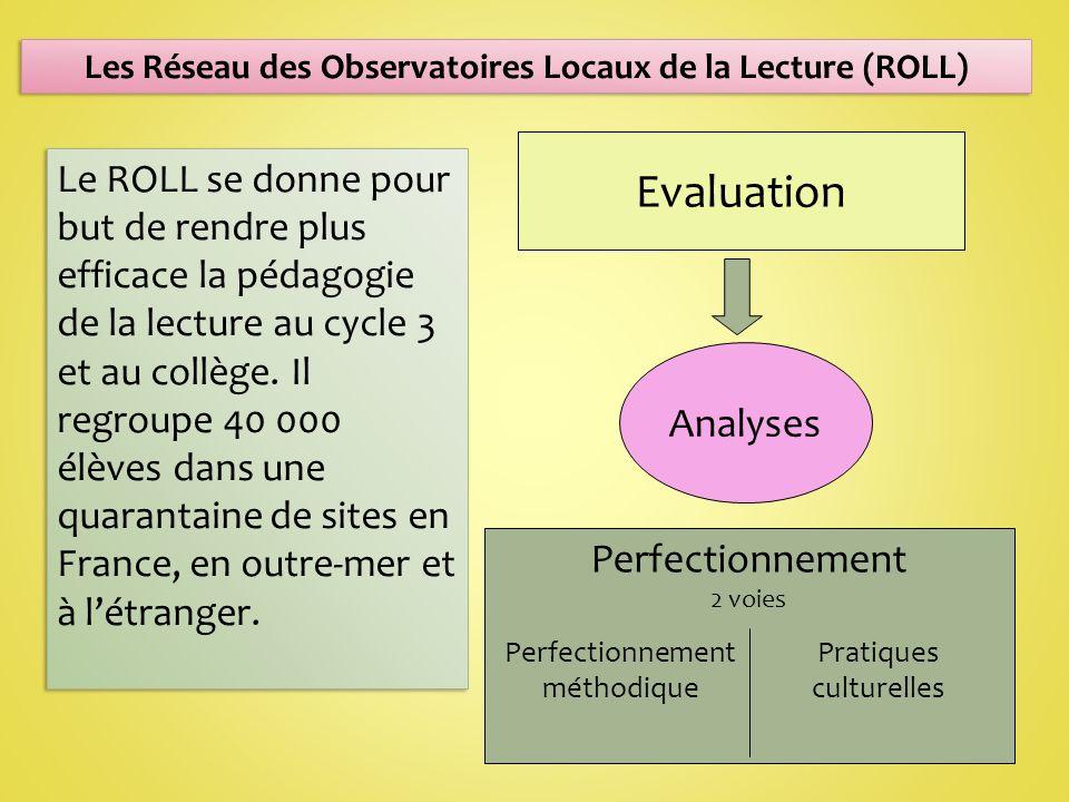 Les Réseau des Observatoires Locaux de la Lecture (ROLL)