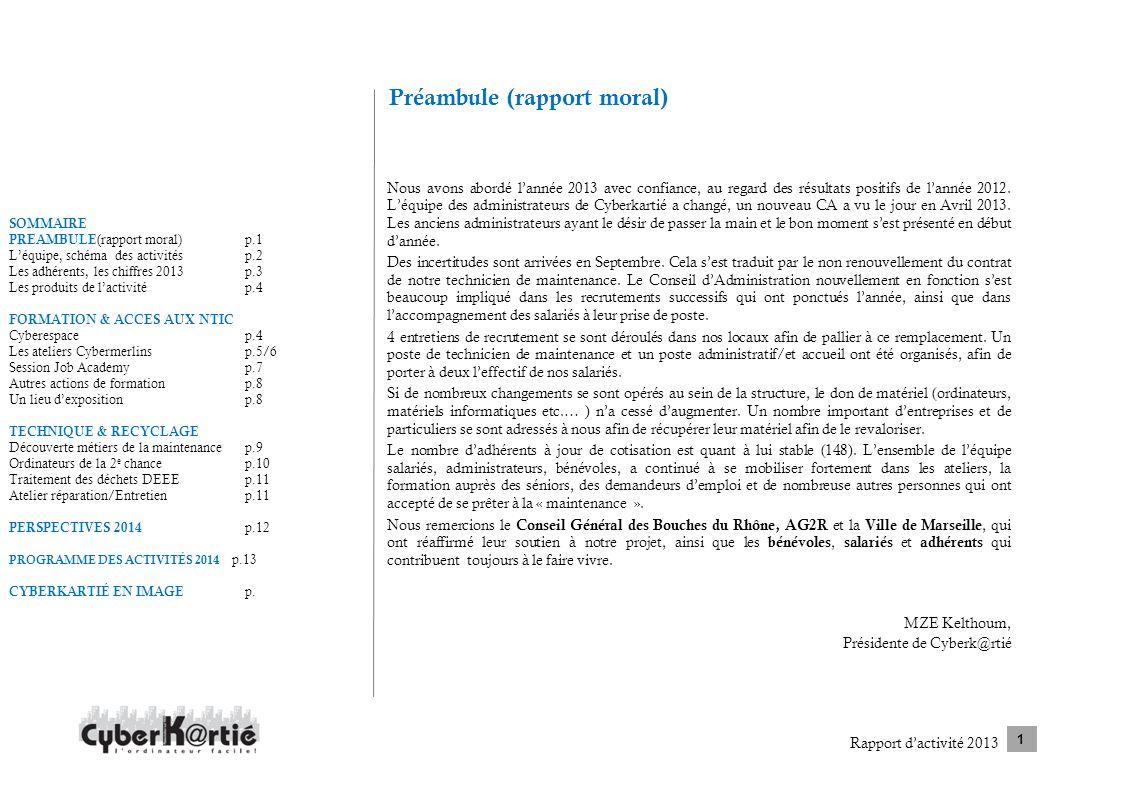 Préambule (rapport moral)