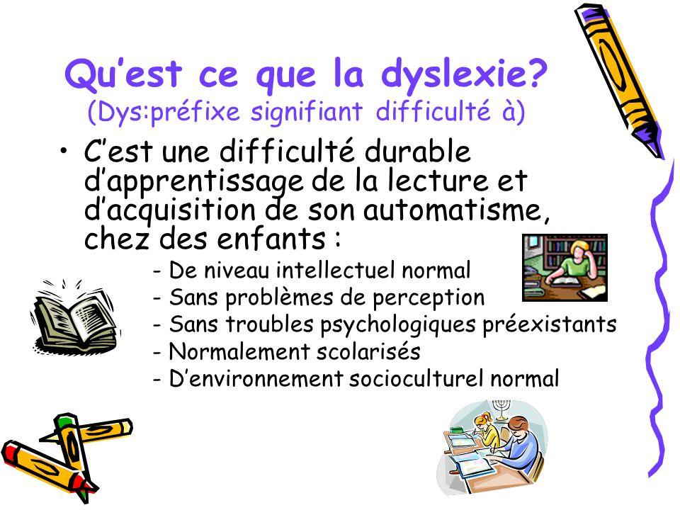 Information sur la dyslexie ppt t l charger for Qu est ce que la lasure