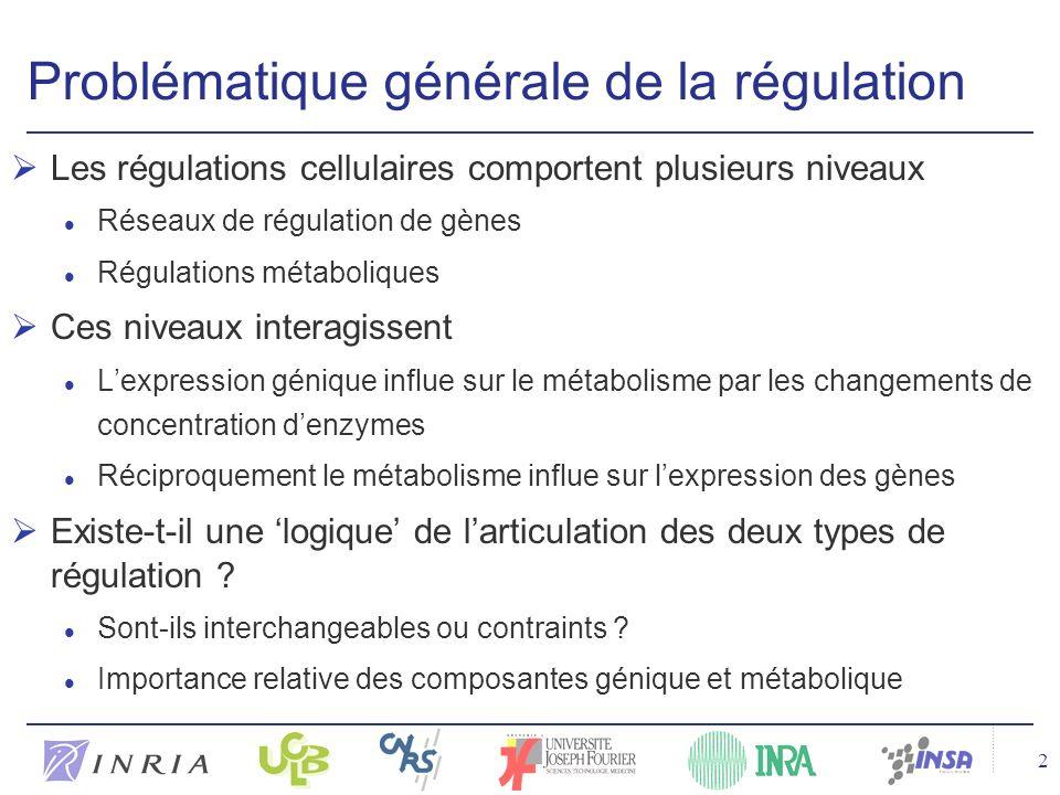 Problématique générale de la régulation