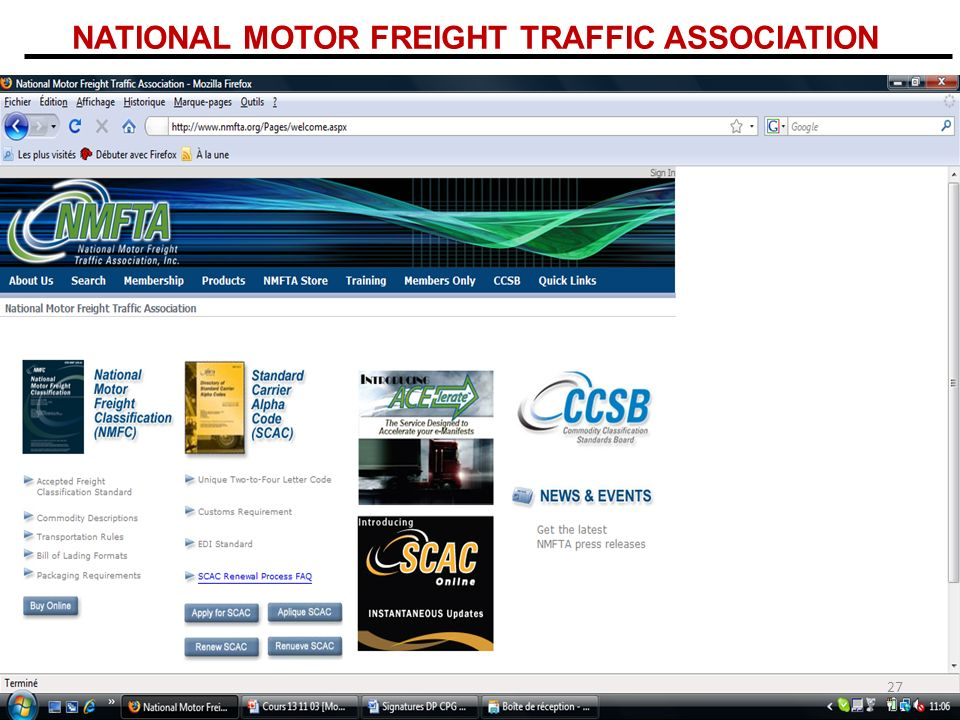 NATIONAL MOTOR FREIGHT TRAFFIC ASSOCIATION