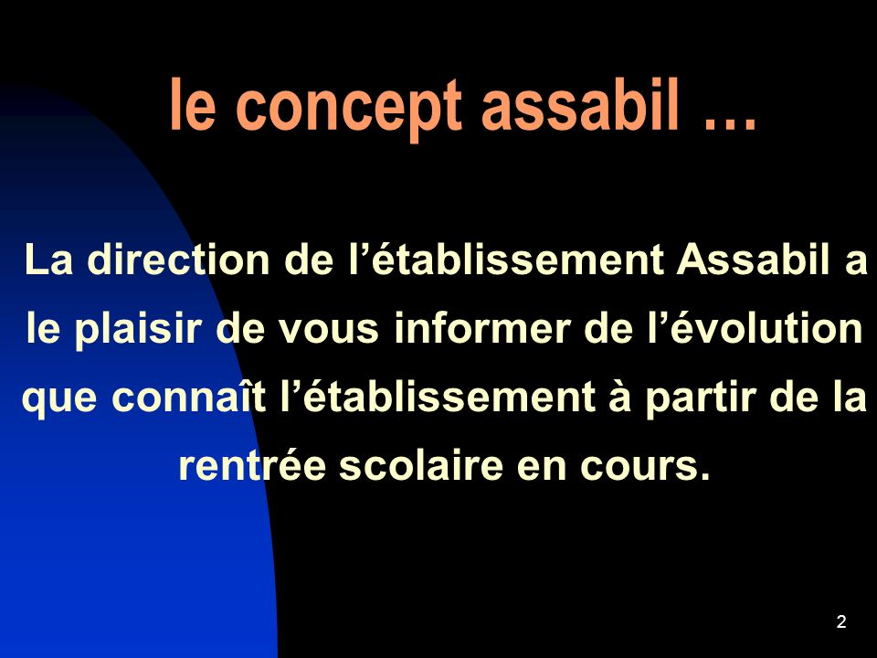 le concept assabil …
