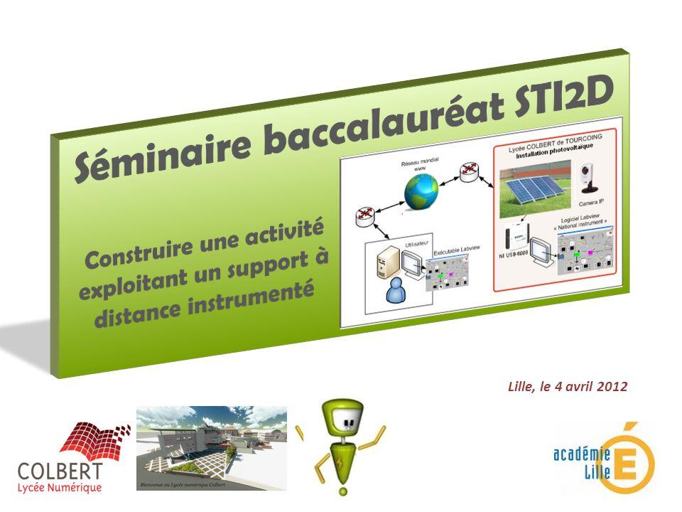 Séminaire baccalauréat STI2D