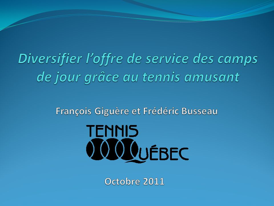 François Giguère et Frédéric Busseau