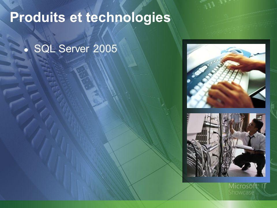 Produits et technologies