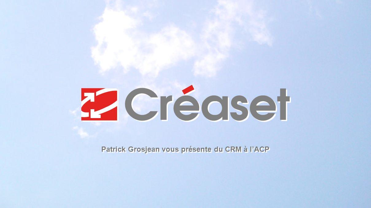 Patrick Grosjean vous présente du CRM à l'ACP