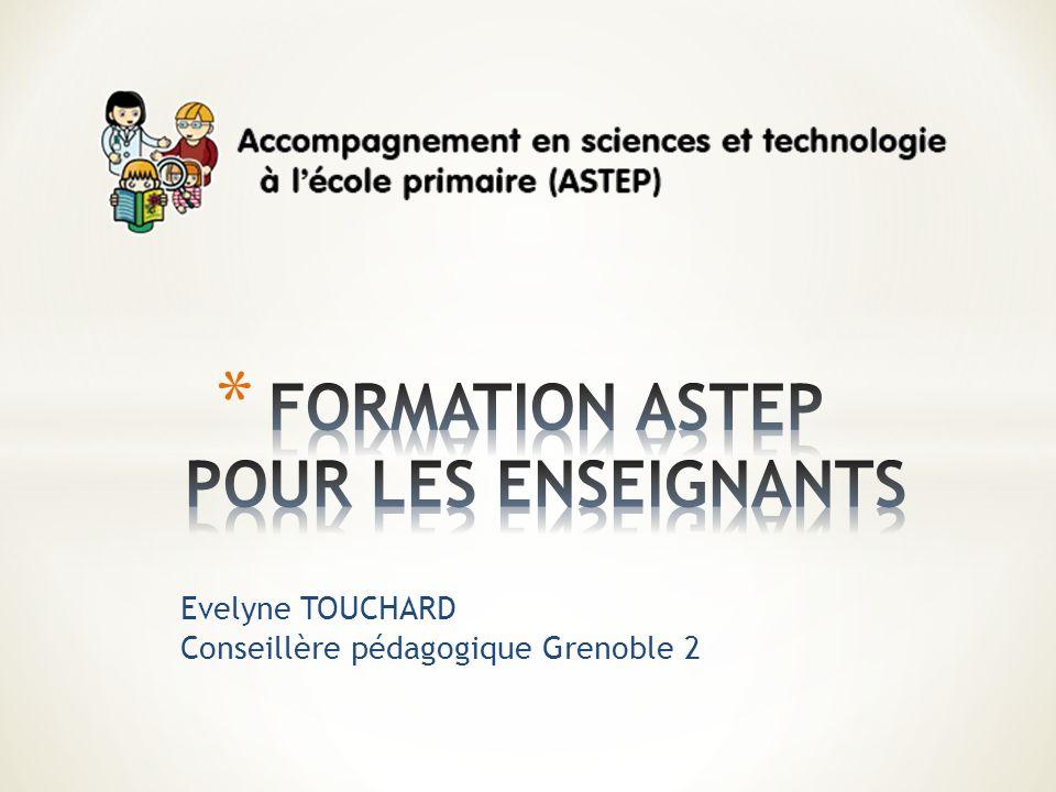 FORMATION ASTEP POUR LES ENSEIGNANTS
