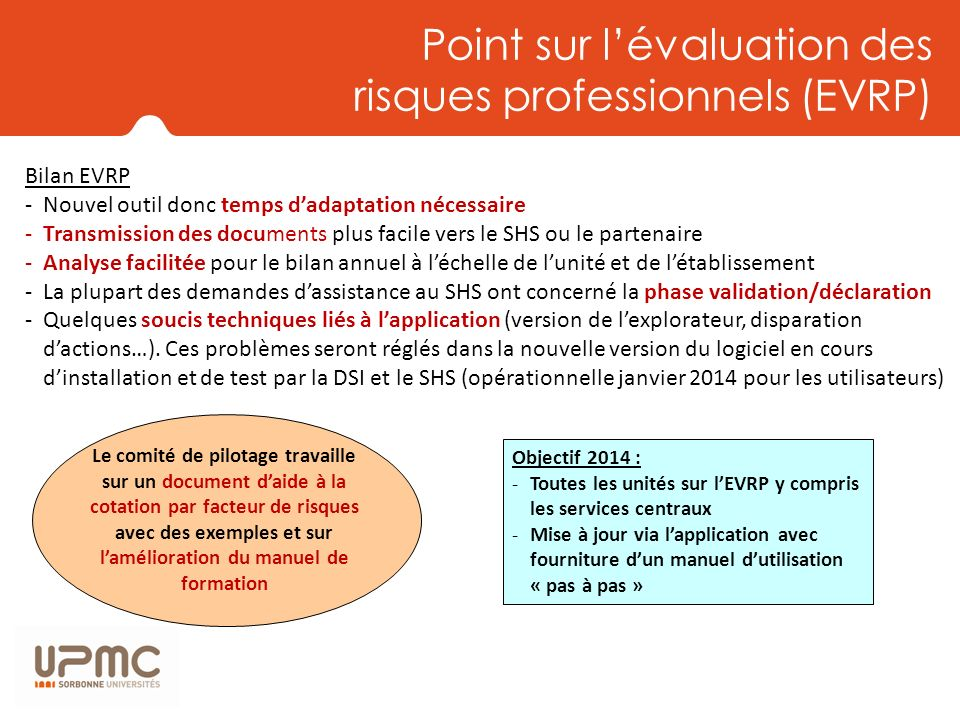 Point sur l'évaluation des risques professionnels (EVRP)