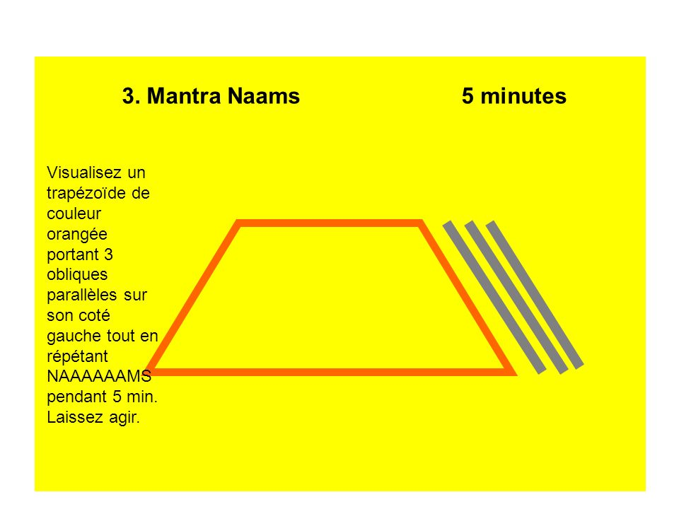 3. Mantra Naams 5 minutes