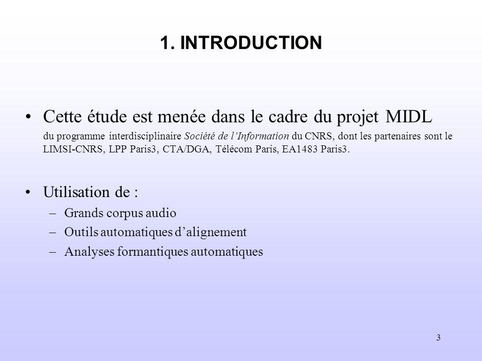 Cette étude est menée dans le cadre du projet MIDL